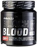 BioTech Black Blood CAF+ Bebida y Batidos Nutritivos, Sabor Arándano - 300 gr...