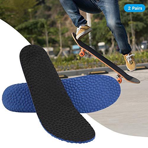 Redxiao~ Plantilla Deportiva, cojín para Zapatos con absorción de la transpiración, Alta Elasticidad, cómodo para Botas de Trabajo, Zapatos para Caminar, Correr y Casuales Hombre(Male Size)