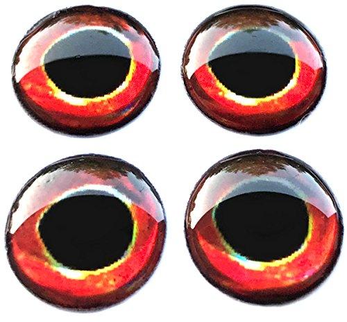 Brule 3-D Hard Epoxy Eyes (Smallie, 6mm)