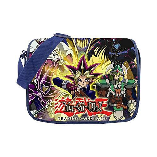 Yu-Gi-Oh Bolsas de Hombro Populares Impreso Mochila Mochila Impresa Mochila Casual Bolso Bandolera Unisex (Color : A01, Size : 30 X 33cm)