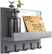 Decorative Key and Mail Holder for Walls - Stylish Rack with Hangers - Simplify Beauty in Your Home