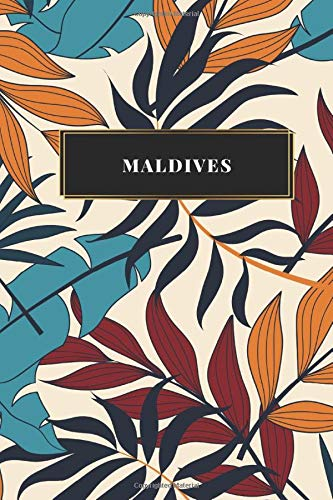 Maldives: Ruled Travel Diary Notebook or Journey  Journal - Lined Trip Pocketbook for Men and Women with Lines