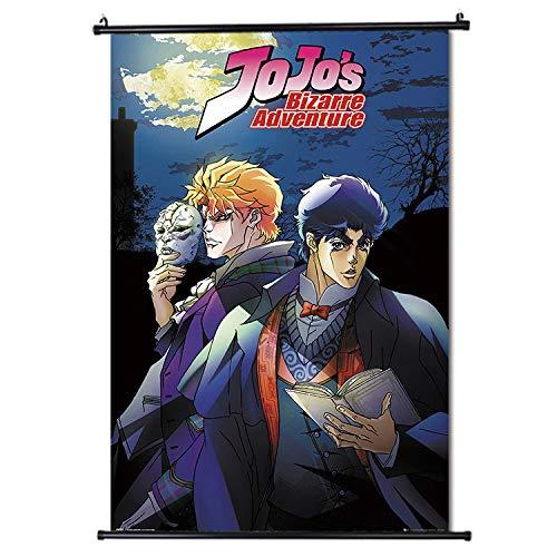 JoJo's Bizarre Adventure Japan Anime Poster de défilement Format 30 x 45 cm