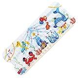 TONIAMO® *NEU* Badewannenmatte für Kinder | extra Lange Antirutschmatte 100x40cm in liebevollem Aquarell-Design | waschmaschinenfest, TÜV Süd geprüft.