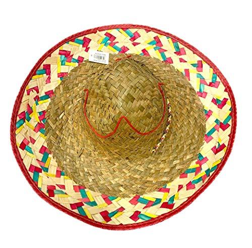 Stylex Party Ltd Traditionele Mexicaanse Hoed Fancy Jurk Sombrero Straw - Westen
