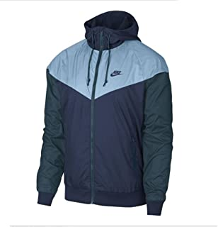 Nike Mens Windrunner Hooded Track Jacket Diffused Blue/Cobalt Tint 727324-491 Size 2X-Large