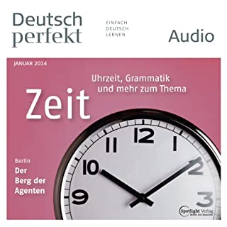 Deutsch perfekt Audio. 1/2014 Titelbild
