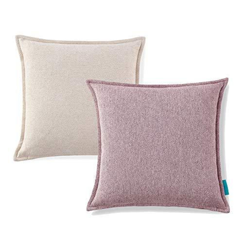 Polster Kissenbezug Kornmechanismus Sofa Matratzenbezug, für Sofas, Sessel und Polster, 18x18 Zoll (45x45 cm)