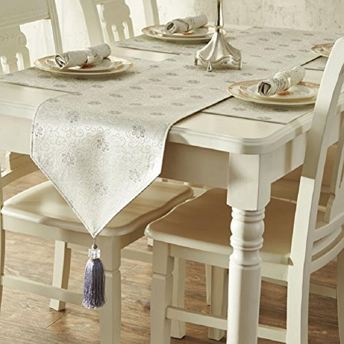 LD&P Haute qualité américaine pastorale moderne minimaliste table coulissante table de thé matelas table à manger drapeau fibre de polyester maison décoration table coureur,C,35*228cm