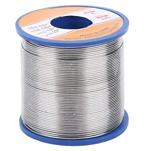 Línea de soldadura eléctrica, seguro para bricolaje, no corrosivo, alambre de soldadura de estaño 361 ℉/183 ℃, placas de circuito para electrónica