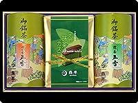 森半 宇治抹茶カステラ・銘茶五香 詰合せ WG-4