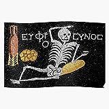 Havana Wine Epicurean Drinking Mori Yolo Memento Skeleton