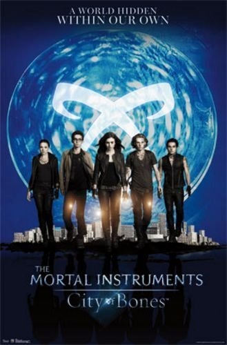 """Trends International The Mortal Instruments City of Bones Movie Poster - Group 22""""x34"""" Art Print Poster"""