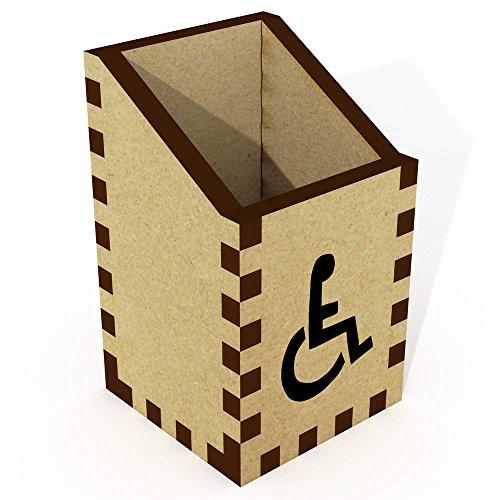 Azeeda Mini 'Rollstuhl-Symbol' Stiftehalter (DT00014146)