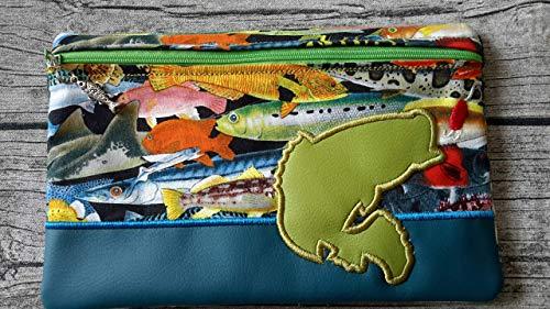 E-Book Tasche/Mäppchen Fische/angeln