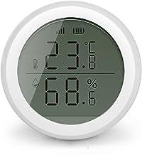 XINGX Smart Wifi Control de temperatura Humedad, Sensor de temperatura y humedad del hogar inteligente, Detector de temperatura y humedad, para el hogar, casa