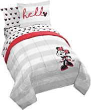 Jay Franco Disney Minnie Mouse Lashes Bed Set, Twin