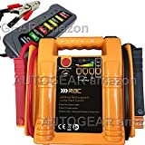 RAC 12v 400 Amp Rechargeable Compact Car Battery Booster Jump Starter Power Pack