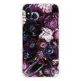 HUAI Cubiertas de Apple iPhone X XR XS 11Pro MAX 4S 5S 5C SE 6S 7 8 Plus iPod Touch 5 6 púrpura de Verano de los Peonies Accesorios Shell (Color : Images 6, Material : For iPod Touch 5)