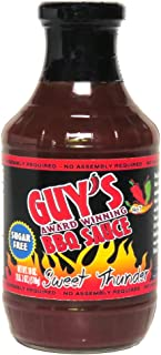 Guy's Award Winning Sugar Free BBQ Sauce - Sweet Thunder 18oz
