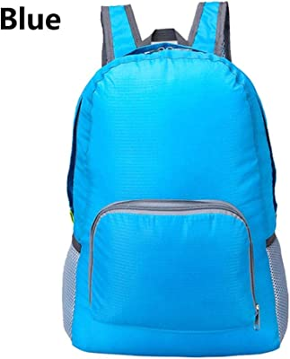 2018 20L Waterproof Nylon Lightweight Foldable Women Men Skin Pack Backpack Travel Rucksack