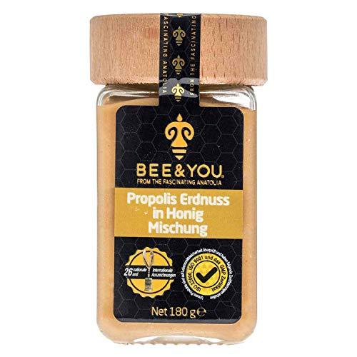 Bee&You Propolis Erdnuss in Honig Mischung (Natürliche & kontrollierte Zutaten - non-GMO -...