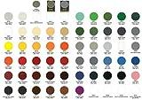 Vernice Acrilica Spray 400ml Colori RAL Rapida Essiccazione Bomboletta Smalto (RAL9005 NERO OPACO)