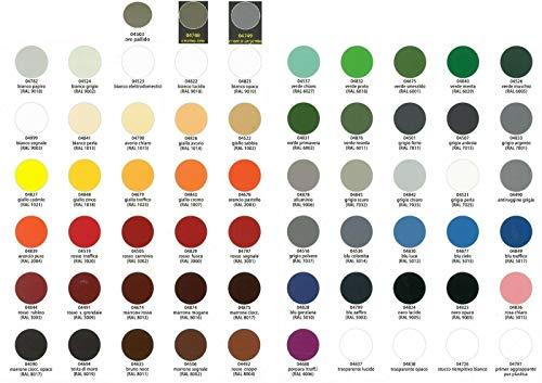 Vernice Acrilica Spray 400ml Colori RAL Rapida Essiccazione Bomboletta Smalto (RAL7025 GRIGIO PERLA)
