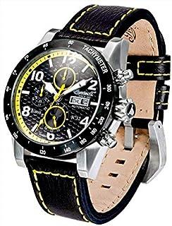 インガーソル 腕時計 自動巻 フルカレンダー 限定生産品 BISON NO. 62 IN1407BKYL [並行輸入品]