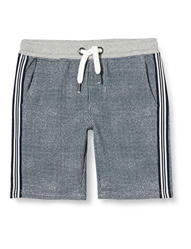 Garcia Kids Jungen O03520_2758 (152) Shorts, Blau (Grey Melee 66), (Herstellergröße: 128)