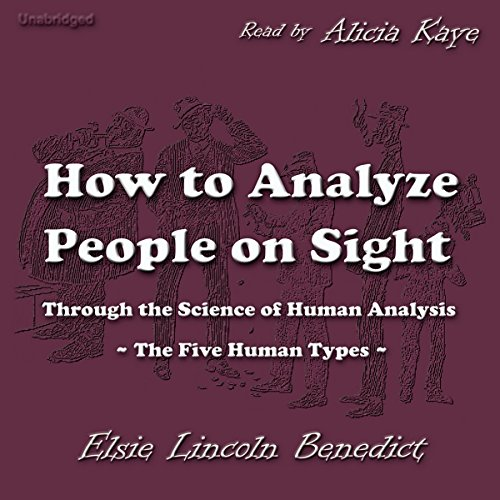 How to Analyze People on Sight audiobook cover art