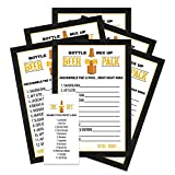 Beer Word Scramble Party Games (Pack of 25) for Baby Shower, Bridal Shower, Wedding, Coed Groups,...