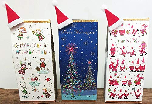 Weihnachtstee mit Mini-Mütze, Früchtetee Wintertraum, 75 gr., 1 Paket a.d. Sortiment