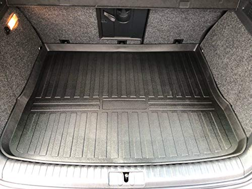 Rear Trunk Liner Tray Mat Pad for VOLKSWAGEN VW TIGUAN 2009 2010 2011 2012 2013 2014 2015 2016 2017 Floor Cargo Cover Tray Protection Dirt Mud Snow All Weather Season Waterproof 3d Laser Measured