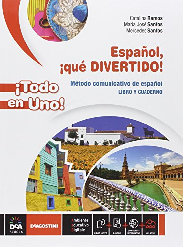 Espanol qué divertido! Vol. unico. Con E-Book e DVD [Lingua spagnola]