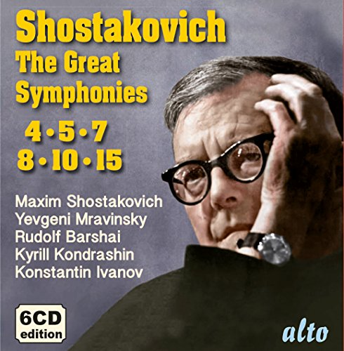 Schostakowitsch: Die Grossen Sinfonien-Nr.4,5,7,8,10,15/+