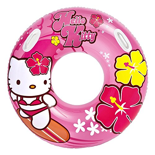 INTEX - 0773005 - Bouée Gonflable - Hello Kitty - 97 Cm