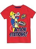 Fireman Sam Camiseta para niño - Sam el Bombero - 4-5 Años