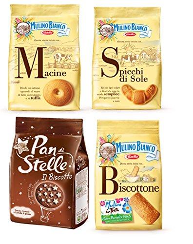 Mulino Bianco:Sortierte Kekse, insgesamt 3100 g, 4 Stück