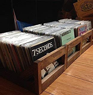 45 rpm/7inch Record Storage Crate // No more empty 12 pack boxes! Finally a proper way to store your 7