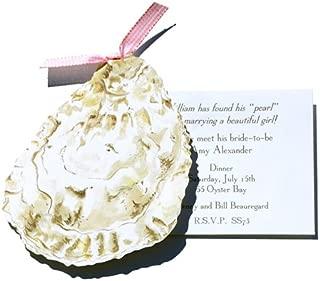 Oyster Die-cut Card, Pack of 10