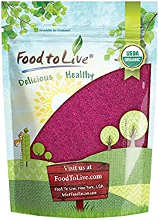 Organic Red Dragon Fruit Powder, 8 Ounces — Non-GMO, Freeze-Dried Pitaya, Raw Pitahaya, Vegan Superfood, Bulk, Non-Irradiated, Rich in Vitamins and Minerals, Great for Drinks