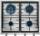 Teka EX 60 1 4G AI AL DR NAT Integrado Encimera de gas Acero...