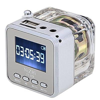 Mini Digital Portable Music MP3/4 Player TF Card USB Disk Speaker FM Radio