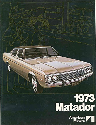 1973 AMC Matador Brochure Export