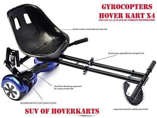 Hoverkart 6.5//8//10 HOVER Board SEDILE GO KART speedkart for self-balance e-scooter