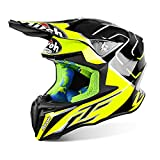 Airoh Twist Cairoli Mantova giallo – Casco da motocross Motox Full Face moto