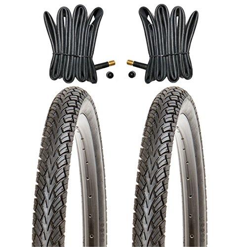 Kujo Reifen Set 24x1.75 inkl. Schläuche mit Autoventilen