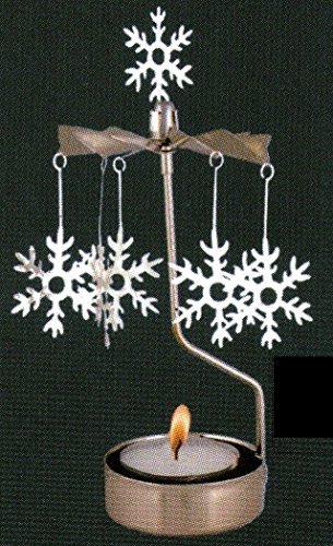 Pluto Rotary Candleholder Snowflake