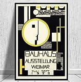 qiaolezi Bauhaus Ausstellung Weimer Ausstellung Poster